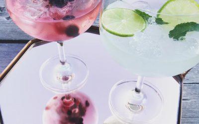 Alcoholvrije cocktails op een zonnige zaterdagmiddag